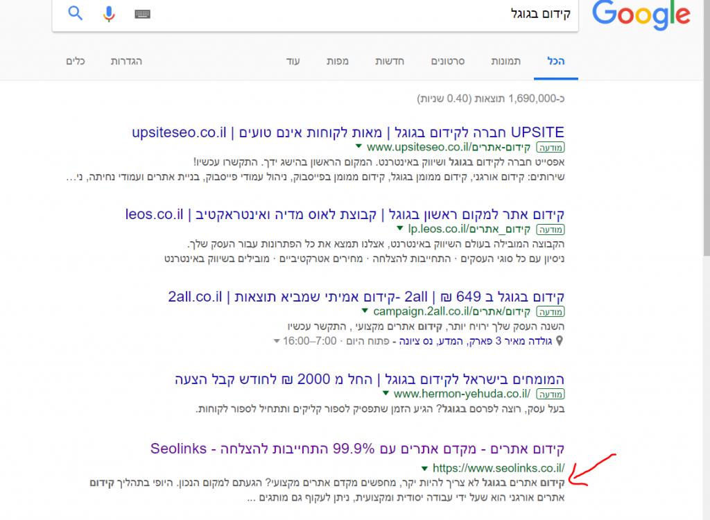 גוגל מבצעת ניסיונות באלגוריתמים והפעם בשורת ה- Meta description
