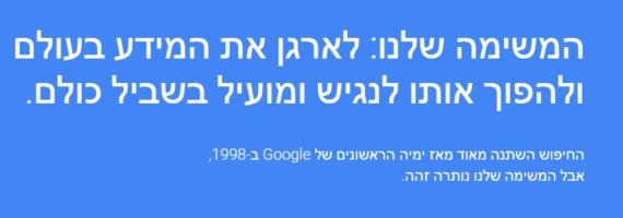 הכרזת גוגל