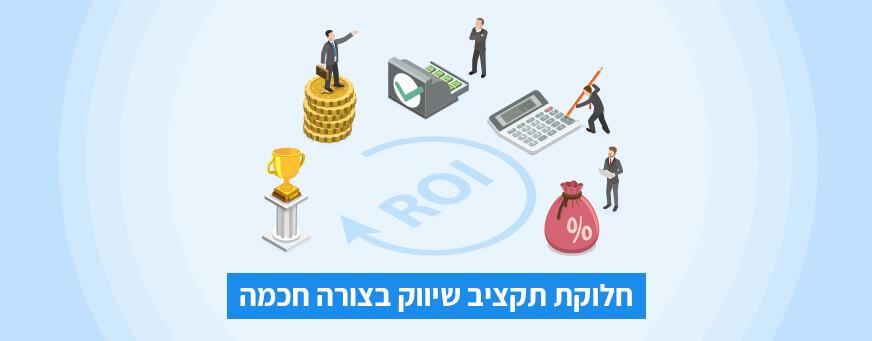 תקציב השיווק הדיגיטלי