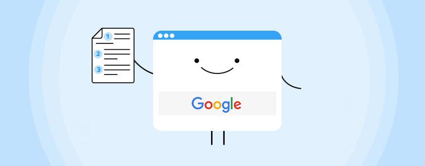 תקציר מסמך ההנחיות של גוגל