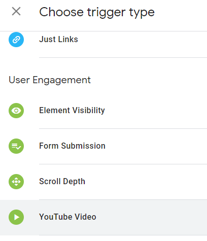 יצירת טריגר למעקב וידאו